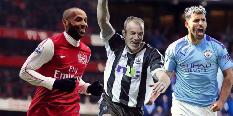 players to have scored over 150 Premier League goals