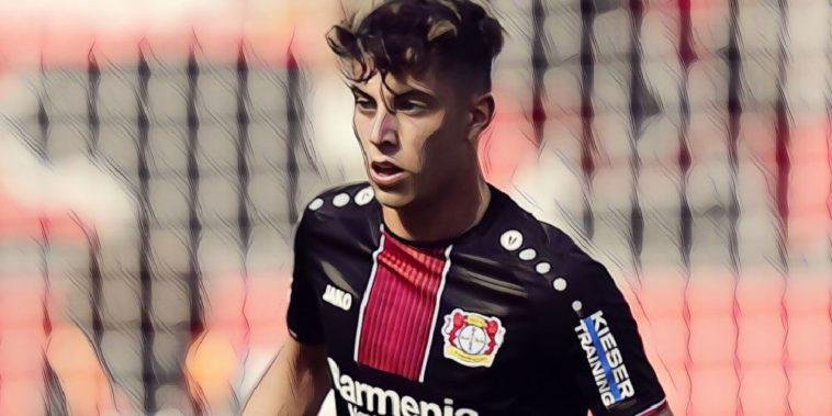 Bayer Leverkusen playmaker Kai Havertz