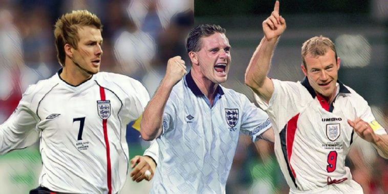 The greatest ever England XI after 1000 international games