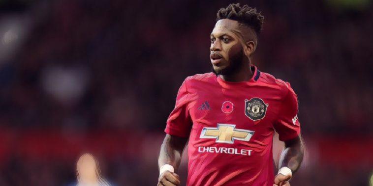 Fred Manchester United midfielder 2019