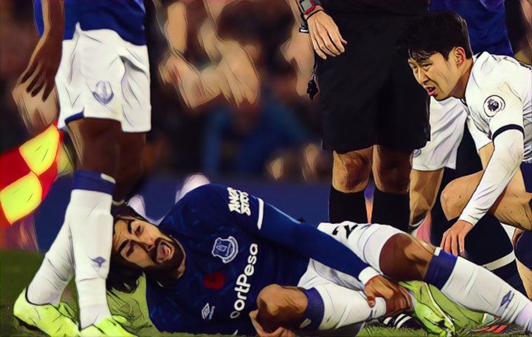 andre gomes injury everton