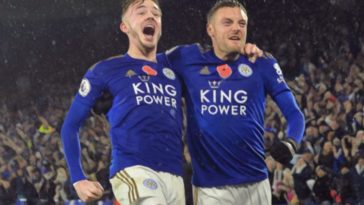 leicester city maddison vardy