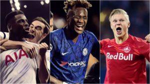 champions league spurs chelsea haaland messi