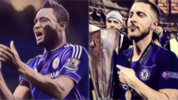 chelsea eden hazard laziest player