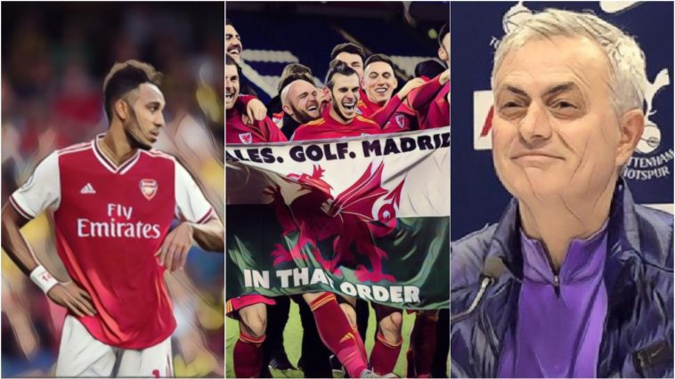 tweets of the week mourinho arsenal gareth bale