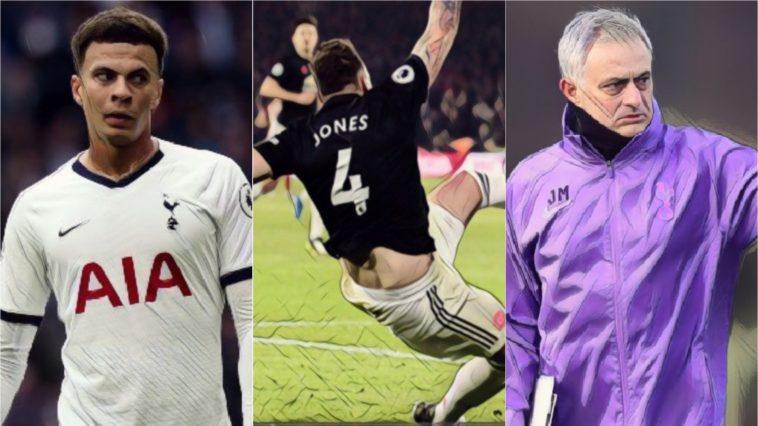 premier league weekly awards alli jones mourinho