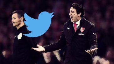 twitter reaction arsenal sacking unai emery