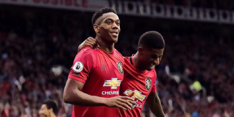 martial rashford manchester united