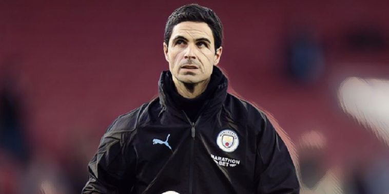 mikel arteta man city arsenal