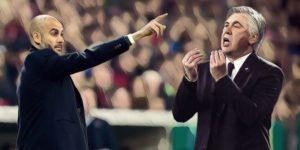 guardiola ancelotti premier league