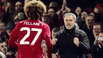 fellaini mourinho tottenham hotspur