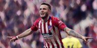 saul niguez atletico madrid manchester united