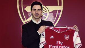 mikel arteta new arsenal head coach