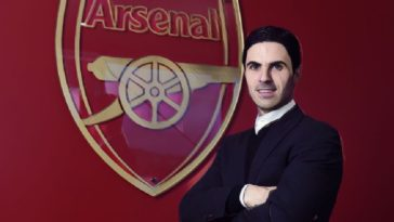 mikel arteta new arsenal head coach