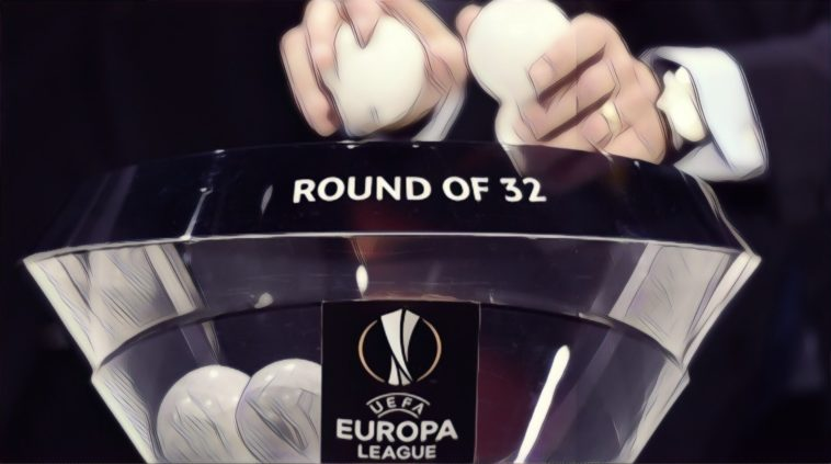 Europa League round of 32 draw manchester united arsenal wolves