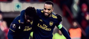 arsenal lacazette sako