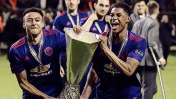 manchester united europa league rashford lingard