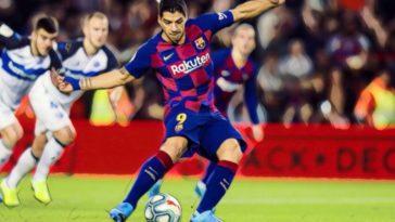 la liga suarez barcelona