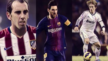 la liga team of the decade