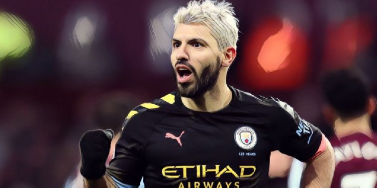 sergio aguero manchester city premier league
