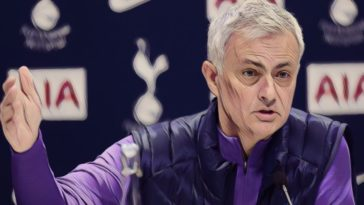 jose mourinho premier league spurs