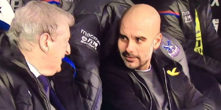pep guardiola roy hodgson premier league