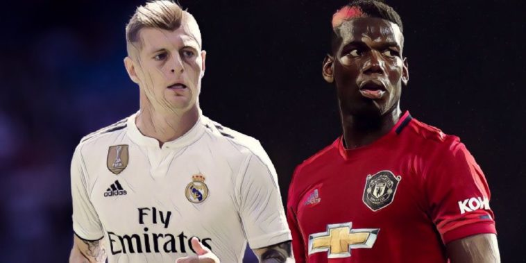 pogba kroos manchester united real madrid