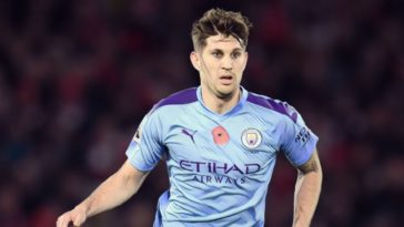 john stones man city premier league
