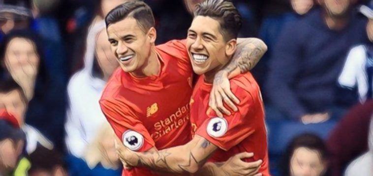 best brazilian liverpool players Firmino Coutinho