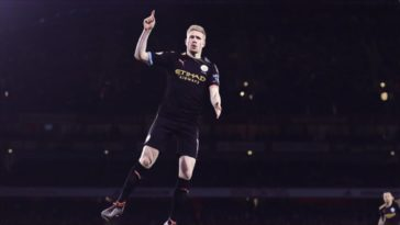kevin de bruyne man city premier league