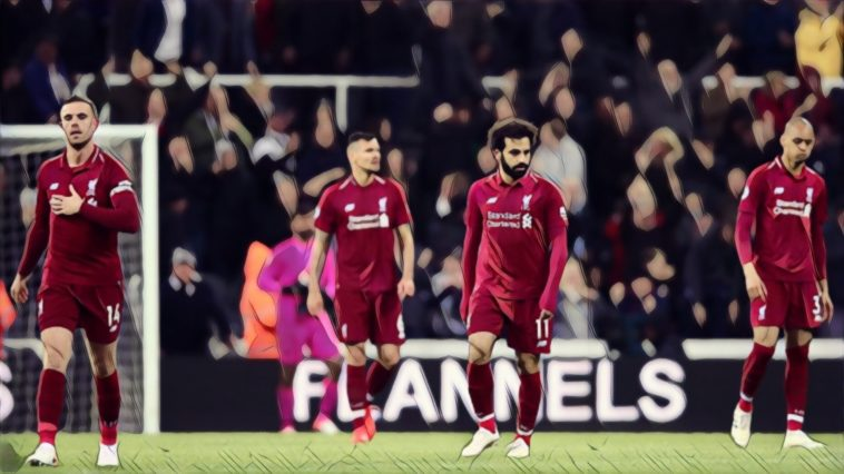 every liverpool defeat since beginning of 2018/19