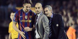 zlatan pep guardiola jose mourinho