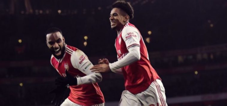 reiss nelson alexandre lacazette arsenal premier league