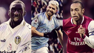 top foreign goal scorers premier league