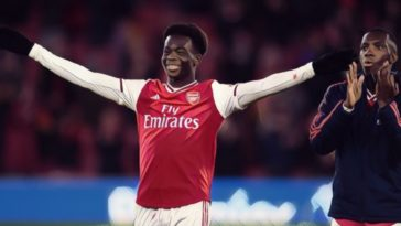 bukayo saka arsenal premier league