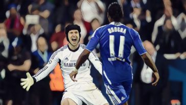 Cech Drogba 2012 Champions League final