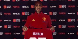 odion ighalo manchester united premier league