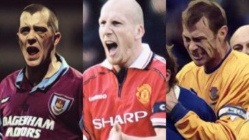 hardest footballers in the british game