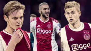 ajax champions league 2018/19