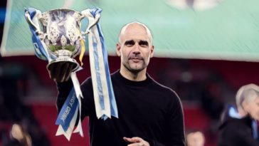 pep guardiola manchester city league cup