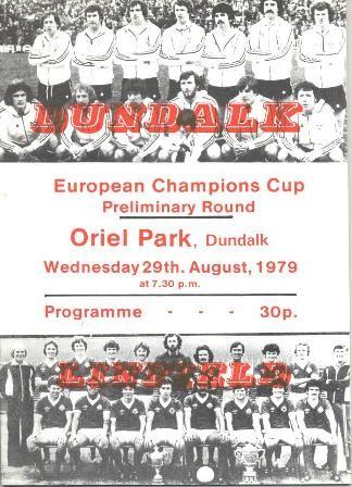 dundalk linfield 1979 european cup