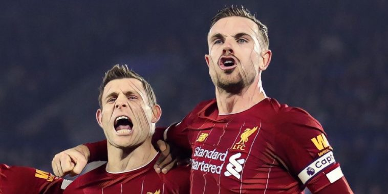 Jordan Henderson James Milner Liverpool Premier League