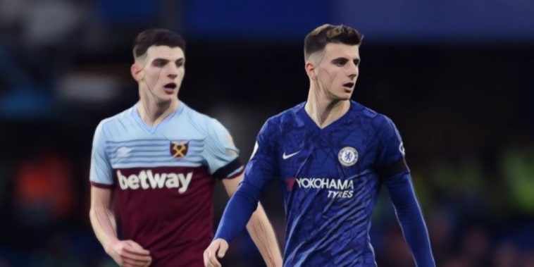 Declan Rice Mason Mount