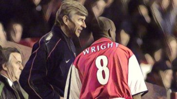 arsenal wenger ian wright