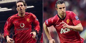 robin van persie ruud van nistelrooy manchester united