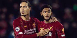 Van Dijk Gomez Liverpool