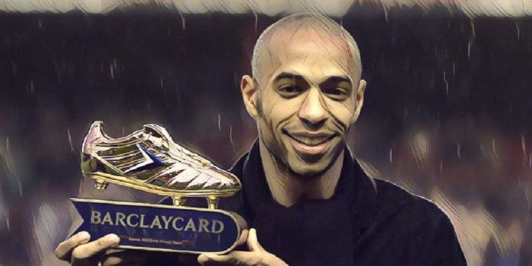 Thierry Henry golden boot