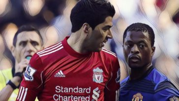 Patrice Evra Luis Suarez racism