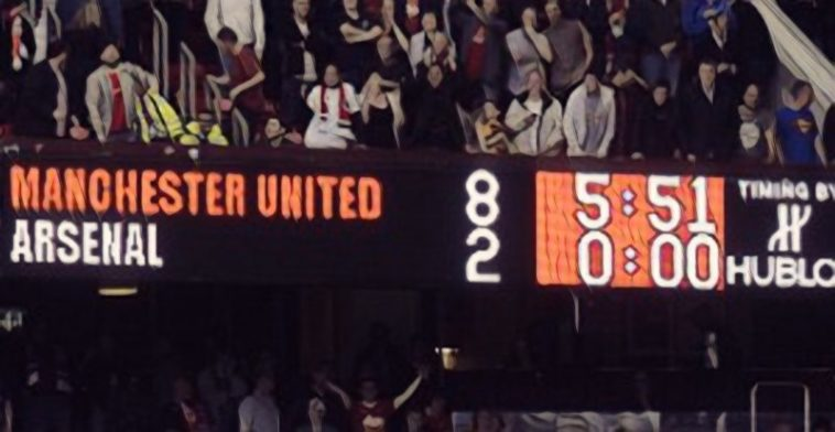 manchester united arsenal 8-2