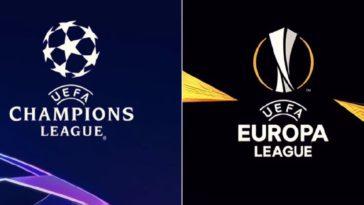 champions league and europa league